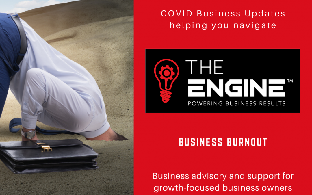 Business Burnout, the DIY mindset and Keeping your Business Healthy